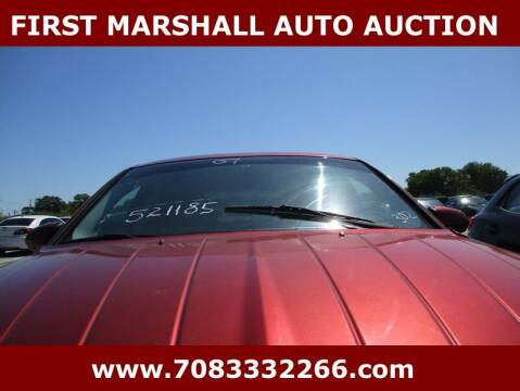 2007 Chrysler Sebring for sale at First Marshall Auto Auction in Harvey IL