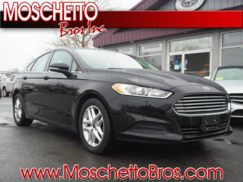2016 Ford Fusion for sale at Moschetto Bros. Inc in Methuen MA