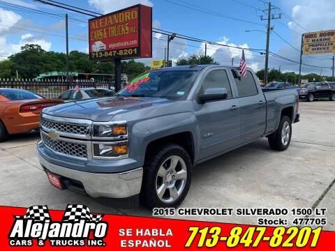 2015 Chevrolet Silverado 1500 for sale at Alejandro Cars & Trucks Inc in Houston TX