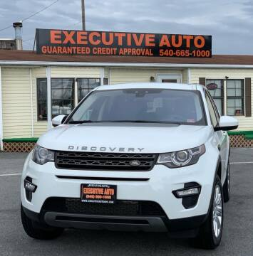 2017 Land Rover Discovery Sport for sale at Executive Auto in Winchester VA