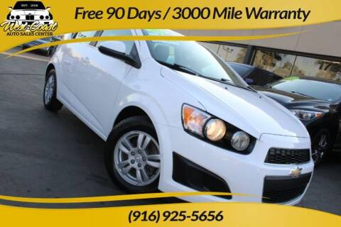2014 Chevrolet Sonic for sale at West Coast Auto Sales Center in Sacramento CA