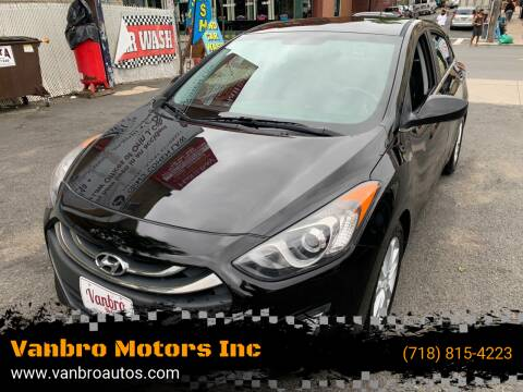 2014 Hyundai Elantra GT for sale at Vanbro Motors Inc in Staten Island NY