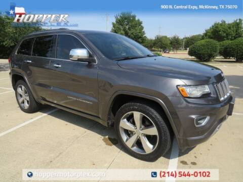 2015 Jeep Grand Cherokee for sale at HOPPER MOTORPLEX in Mckinney TX