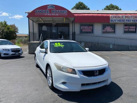 2008 Honda Accord for sale at Choice Motors of Salt Lake City in West Valley  City UT