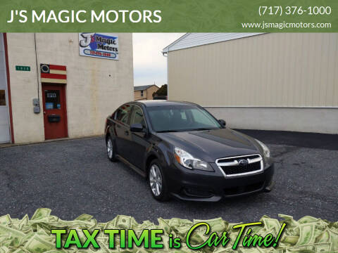 2013 Subaru Legacy for sale at J'S MAGIC MOTORS in Lebanon PA