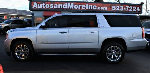 2015 GMC Yukon XL for sale at Autos and More Inc in Knoxville TN