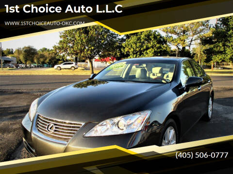 2008 Lexus ES 350 for sale at 1st Choice Auto L.L.C in Oklahoma City OK