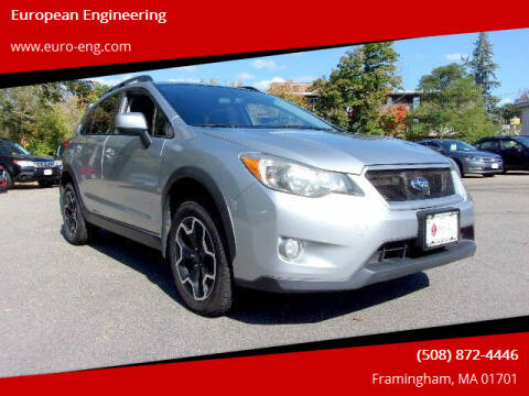 2013 Subaru XV Crosstrek for sale at European Engineering in Framingham MA