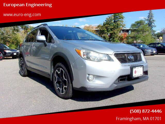 2013 Subaru XV Crosstrek for sale at European Engineering in Framingham MA