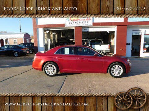 2014 Chrysler 300 for sale at Porks Chop Truck and Auto in Cheyenne WY