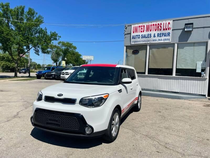 2016 Kia Soul for sale at United Motors LLC in Saint Francis WI