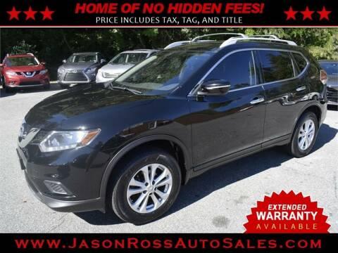 2015 Nissan Rogue for sale at Jason Ross Auto Sales in Burlington NC