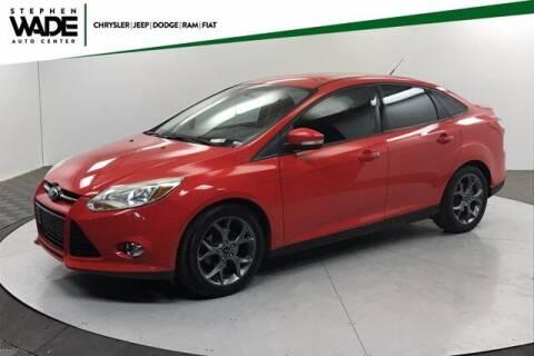 2013 Ford Focus for sale at Stephen Wade Pre-Owned Supercenter in Saint George UT