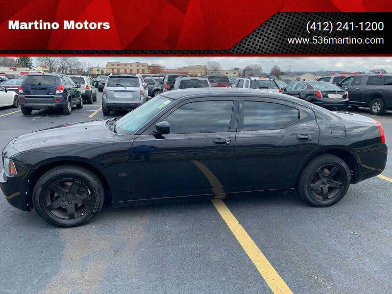 2010 Dodge Charger for sale at Martino Motors in Pittsburgh PA