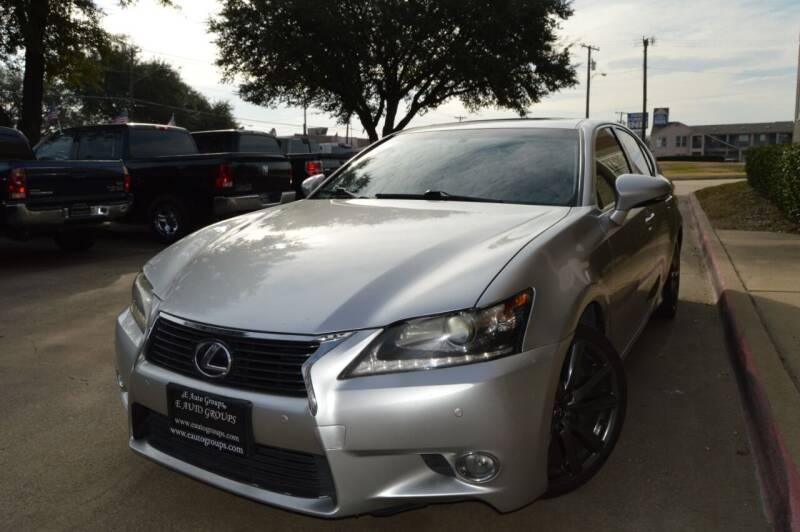 2013 Lexus GS 350 for sale at E-Auto Groups in Dallas TX