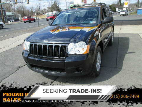 2010 Jeep Grand Cherokee for sale at FERINO BROS AUTO SALES in Wrightstown PA