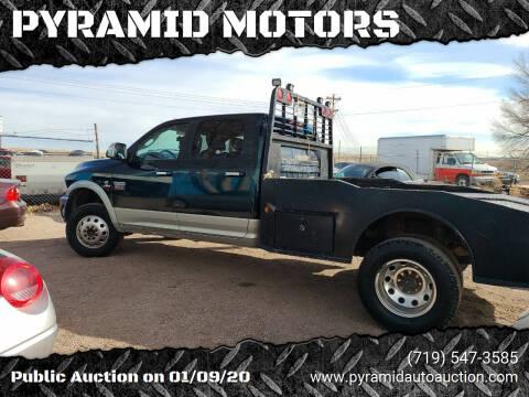 2011 RAM Ram Pickup 3500 for sale at PYRAMID MOTORS - Pueblo Lot in Pueblo CO