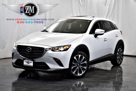 2019 Mazda CX-3 for sale at ZONE MOTORS in Addison IL