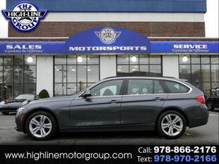 2017 BMW 3 Series for sale at Highline Group Motorsports in Lowell MA