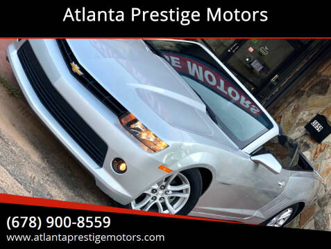 2014 Chevrolet Camaro for sale at Atlanta Prestige Motors in Decatur GA