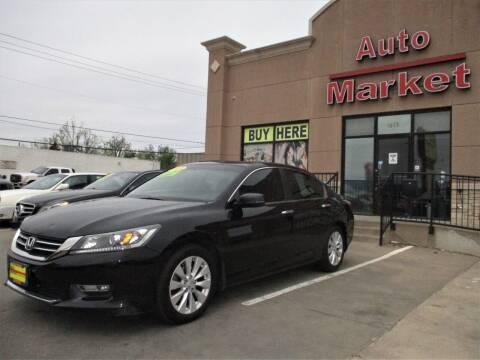 2013 Honda Accord for sale at Auto Market in Oklahoma City OK