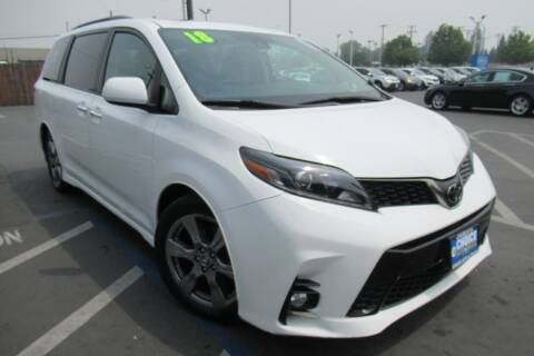 2018 Toyota Sienna for sale at Choice Auto & Truck in Sacramento CA