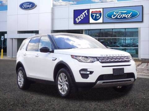 2017 Land Rover Discovery Sport for sale at Szott Ford in Holly MI