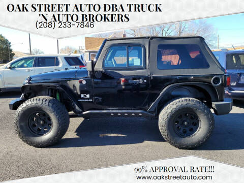 2008 Jeep Wrangler for sale at Oak Street Auto DBA Truck 'N Auto Brokers in Pocatello ID