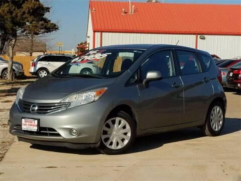 2014 Nissan Versa Note for sale at Bryans Car Corner in Chickasha OK