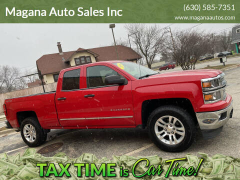 2014 Chevrolet Silverado 1500 for sale at Magana Auto Sales Inc in Aurora IL