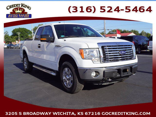 2012 Ford F-150 for sale at Credit King Auto Sales in Wichita KS
