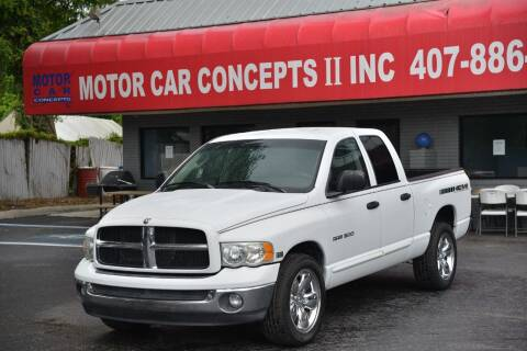 2003 Dodge Ram Pickup 1500 for sale at Motor Car Concepts II - Apopka Location in Apopka FL