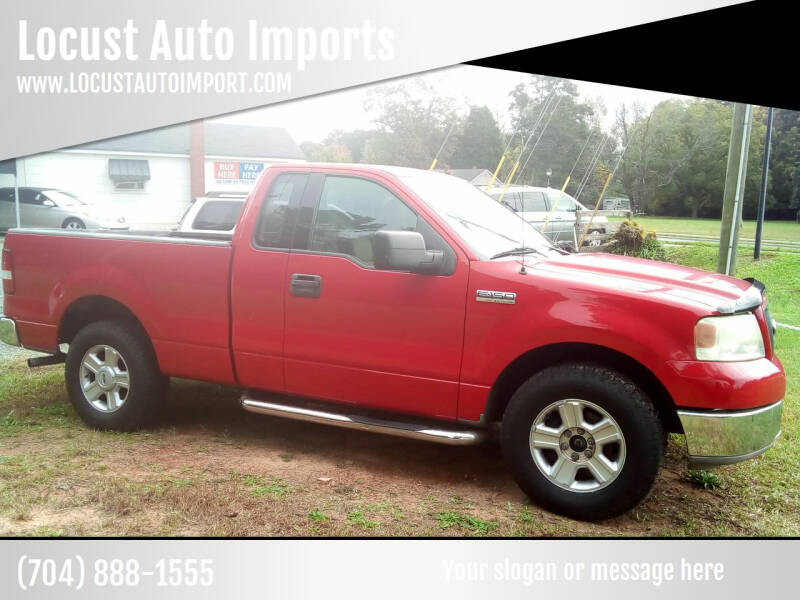 2004 Ford F-150 for sale at Locust Auto Imports in Locust NC