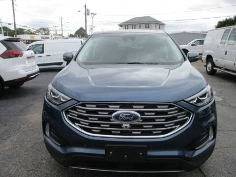 2019 Ford Edge for sale at AUTO FACTORY INC in East Providence RI