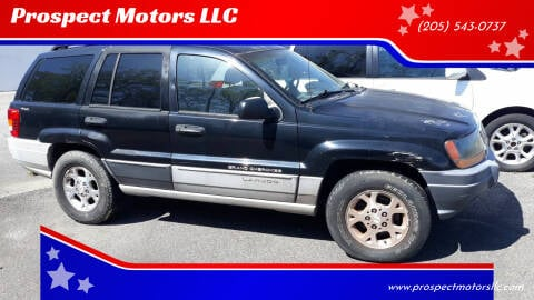 2000 Jeep Grand Cherokee for sale at Prospect Motors LLC in Adamsville AL