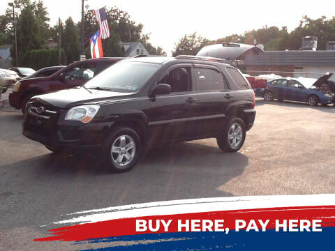 2009 Kia Sportage for sale at Lancaster Auto Detail & Auto Sales in Lancaster PA