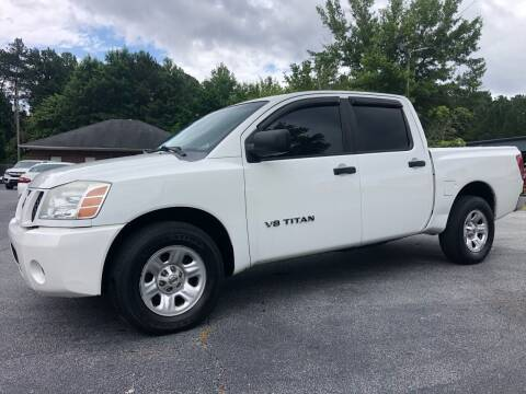 2007 Nissan Titan for sale at GTO United Auto Sales LLC in Lawrenceville GA