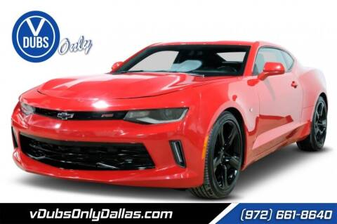2017 Chevrolet Camaro for sale at VDUBS ONLY in Dallas TX