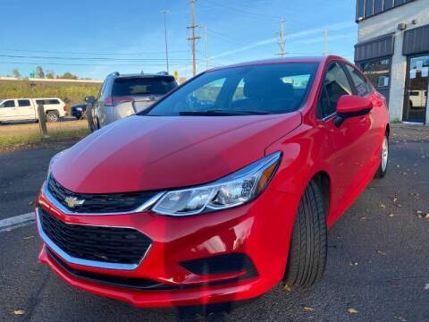 2017 Chevrolet Cruze for sale at Luxury Unlimited Auto Sales Inc. in Trevose PA