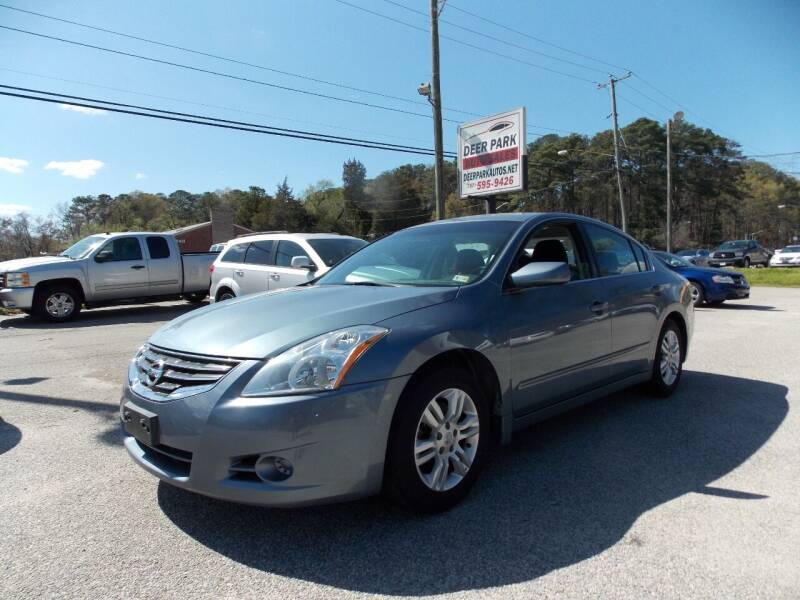 2012 Nissan Altima for sale at Deer Park Auto Sales Corp in Newport News VA