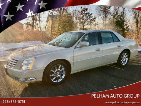 2011 Cadillac DTS for sale at Pelham Auto Group in Pelham NH