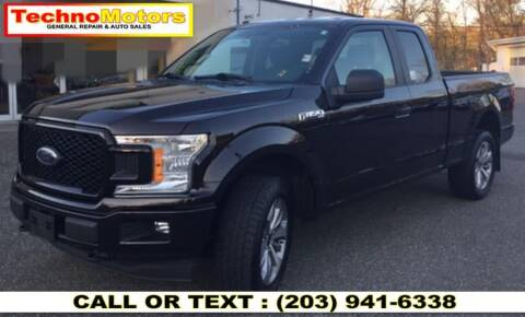 2018 Ford F-150 for sale at Techno Motors in Danbury CT