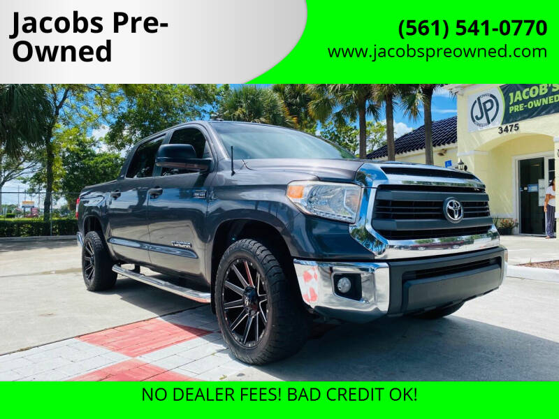 2015 Toyota Tundra for sale at Jacobs Pre-Owned in Lake Worth FL