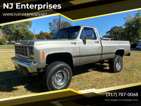 1977 GMC C/K 1500 Series for sale at NJ Enterprises in Indianapolis IN
