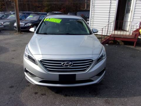 2016 Hyundai Sonata for sale at Balic Autos Inc in Lanham MD