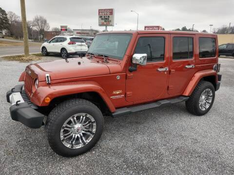 2014 Jeep Wrangler Unlimited for sale at Wholesale Auto Inc in Athens TN