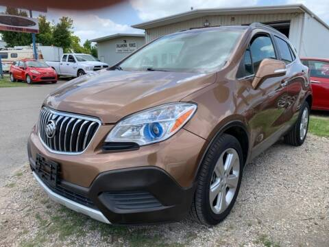 2016 Buick Encore for sale at Lumpy's Auto Sales in Oklahoma City OK