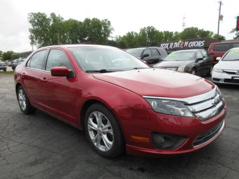 2012 Ford Fusion for sale at Fox River Motors in Green Bay WI