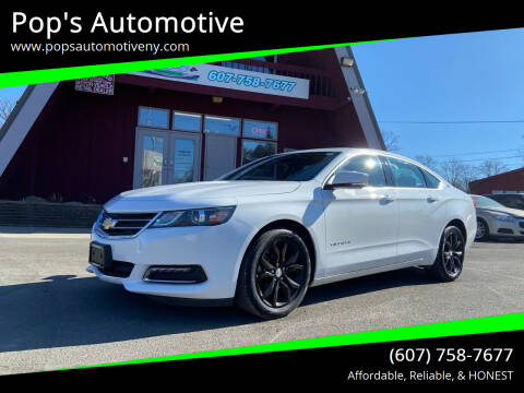 2019 Chevrolet Impala for sale at Pop's Automotive in Homer NY