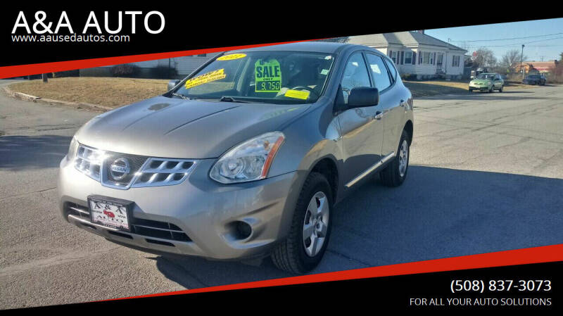 2011 Nissan Rogue for sale at A&A AUTO in Fairhaven MA